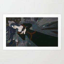 Nighttime Art Print