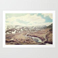 Norwegian Landscape Art Print