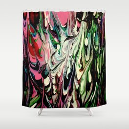 Psychedelic Flow Shower Curtain