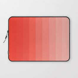 Shades of Living Coral From Hot Tomato Coral to Pale Blush Laptop Sleeve