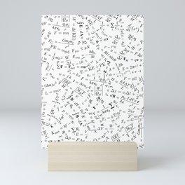 Equation Overload II Mini Art Print