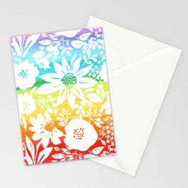 Zen Floral Stationery Cards
