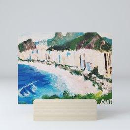Santos Coast Mini Art Print