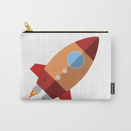 Rocket Ship Carry-All Pouch