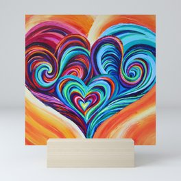 Intertwined Souls Mini Art Print
