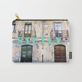 Antique Facade - Sicily Carry-All Pouch