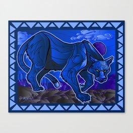 Cougar Blue! Canvas Print