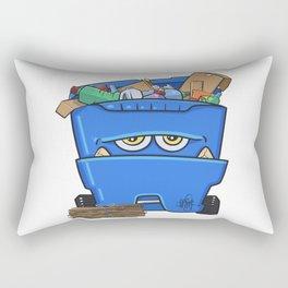 Recycle Monster Rectangular Pillow