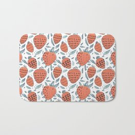 strawberrys Bath Mat