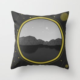 Interconnected Generation Throw Pillow