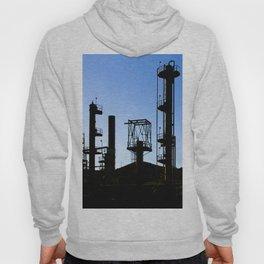 Silhouette Oil Refinery In Ventura Hoody