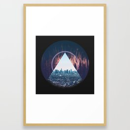 Towers all around us Framed Art Print
