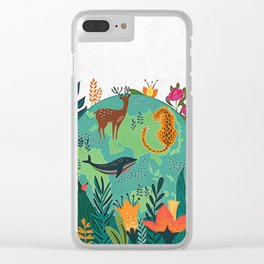 Once Destroyed Nature's Beauty Cannot Be Repurchased At Any Price Clear iPhone Case