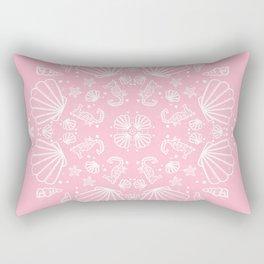 PinkMermaid Rectangular Pillow