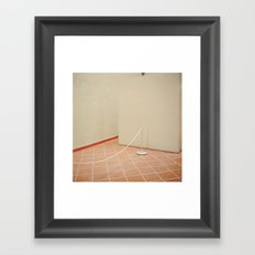 and there's something wrong in the heart of man Framed Art Print