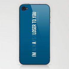 Loser iPhone & iPod Skin