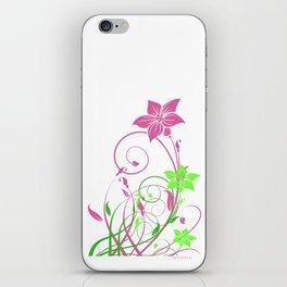Spring's flowers iPhone Skin
