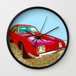 Vintage Car - Studebaker Avanti Wall Clock