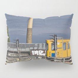 Yellow Train - Berlin Pillow Sham