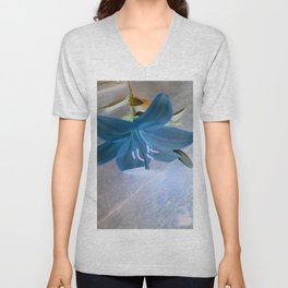 In Blue Unisex V-Neck