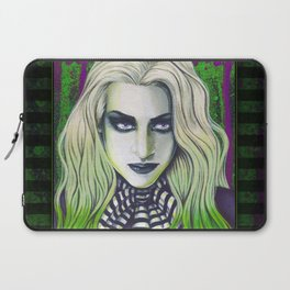 Ghoul Gothic Green Portrait Laptop Sleeve