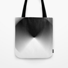 Dark and Light Burst Tote Bag