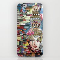 marie antoinette iPhone & iPod Skins featuring Marie Antoinette by Katy Hirschfeld