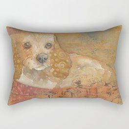 The Cozy Cocker Rectangular Pillow