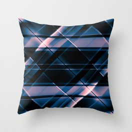 modern stripes pattern c5 Throw Pillow