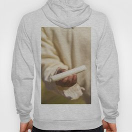 Totora in Hand of Young Boy on Uros Islands Hoody