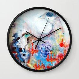 No Turning Back Wall Clock