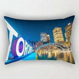 Toronto Canada Rectangular Pillow