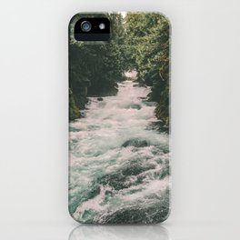 Mckenzie River iPhone Case