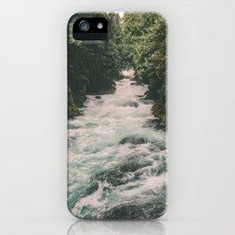 Mckenzie River iPhone Case
