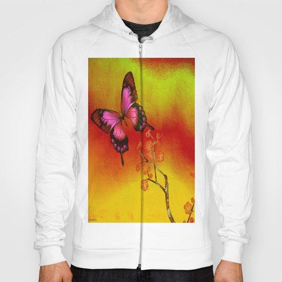 le papillon Japonais  Hoody