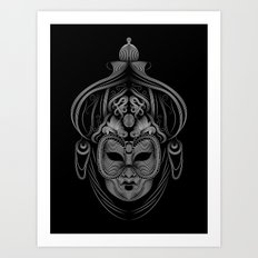 Venetian Mask 1 Art Print
