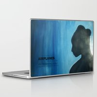 airplanes Laptop & iPad Skins featuring Airplanes by Jinventure