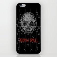 Jig Skull iPhone & iPod Skin
