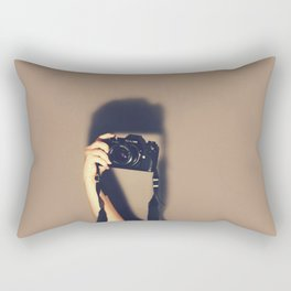 Taking pictures of you Rectangular Pillow
