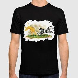 Lion & Zebra T-shirt