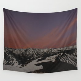 Sunset on Elbert Wall Tapestry