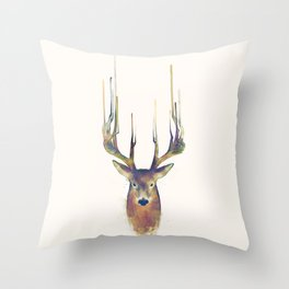 Deer // Steadfast Throw Pillow