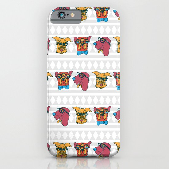 Geek Chic Dogs iPhone & iPod Case