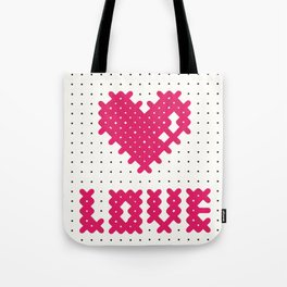 Embroider the Love! Tote Bag