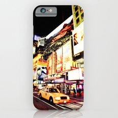 Times Square Lights - New York City iPhone 6 Slim Case