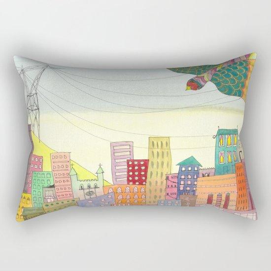 cité Rectangular Pillow