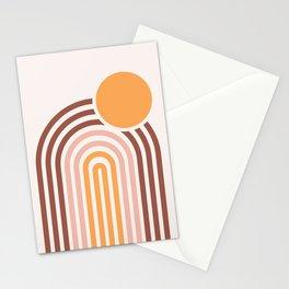 Mincentury Sunset Rainbow Stationery Cards