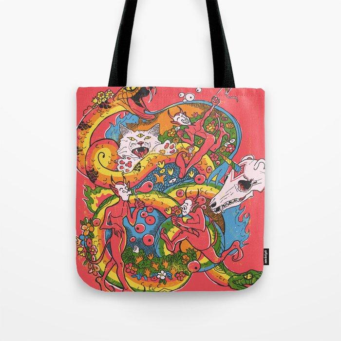 Holiday Imp Tote Bag
