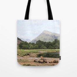 Here is realization - Glen Etive, Scotland Tote Bag