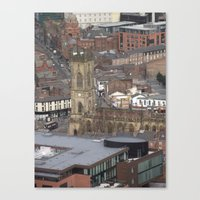 liverpool Canvas Prints featuring Liverpool by eams